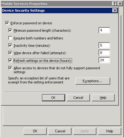 remotewipe1 Can I have my Windows Mobile device wipe its memory after failed logons