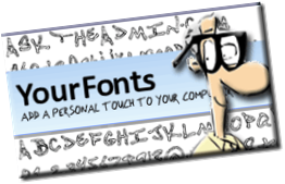 handwritinghead thumb Have you ever wanted to create your own font from your handwriting?