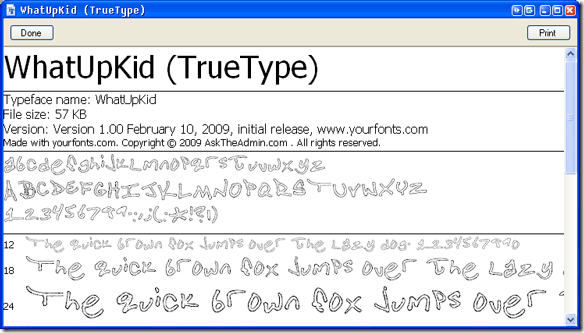 handwritingpreview thumb Have you ever wanted to create your own font from your handwriting?