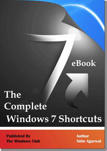 7 The ultimate Windows 7 shortcut key eBook.