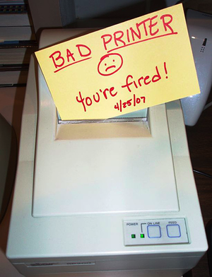 Ask The Admin » Study: Inkjet printers are filthy, lying thieves ...