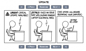 xkcd1 300x178 Warning You Have A Critical Update! LOL